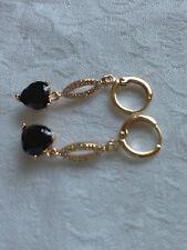 18k Gold Filled Luxury Eardrops Earrings  CZ stone