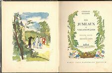 GEORGES DUHAMEL LES JUMEAUX DE VALLANGOUJARD BERTHOLD MAHN ILLUSTRATEUR 1931