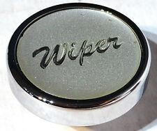 knob wiper silver glossy sticker chrome for Peterbilt Kenworth Freightliner dash