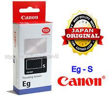 Japan Made Canon Super Precision Matte Eg-S Interchangeable Focusing Screen