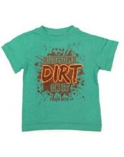 "Farm Boy Authentic Brand Green "" Rub Some Dirt On It "" T-Shirt Toddler 3T NWT"