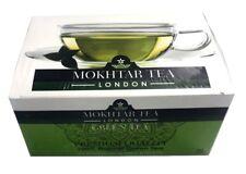 Mokhtar 100% Natural Pure Premium Grade Leaf Green Tea 50 Tea BAGS