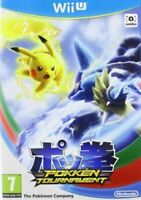 POKKEN TOURNAMENT WII U - MINT - Super Fast Delivery