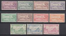 1956 MALDIVES SG #32-42 MNH SET, HARBOUR, FORT