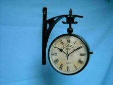 Maritime steel Wall clock Nautical Wall Clock Vintage collectible