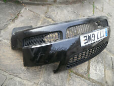 AUDI TT 8N 225 BHP COMPLETE FRONT BUMPER LZ9V WITH GRILLS ETc BLACK WASHER JETS