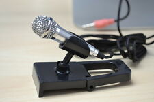 SMART Mini3.5 mm TASCABILE Microfono per PC Laptop Skype Desktop studio discorso