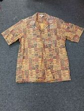Vintage Boys Don Rancho California Tribal Hawaiian Shirt