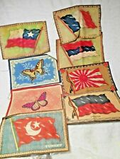 New listing 11-Vintage Tobacco Flannels,Felts/Flags of Countries,Butterflies,