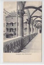 AK Stuttgart, Alter Schlosshof, 1910