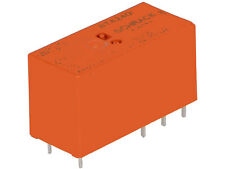 4 pcs. RT424012  6-1393243-3  Schrack Relais Relay 12VDC  8A 360R  DPDT 2xU  #BP