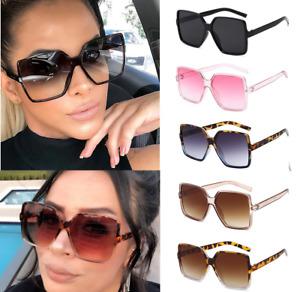Sonnenbrille Damen Luxus Blogger Fashion Design Oversize NEW TREND + Garantie 🕶