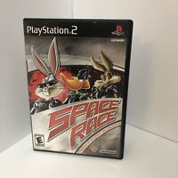 Space Race (Sony PlayStation 2, Complete w/ manual, 2002, Looney Tunes)