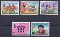 S5394) Mauretanien 1978 MNH W.C.Football - Fussball Fußball Weltmeister 5v