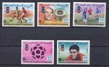 s5394) MAURITANIE 1978 MNH** W.C. Football - Campionati del Mondo Calcio 5v.
