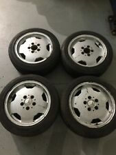 "Mercedes R15 15"" AMG Alloy Wheels c7400129 W201 190E W124 w129"