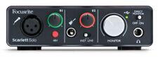 Focusrite Scarlett Solo Studio USB Interface & HP60 Headphones & CM25 Microphone