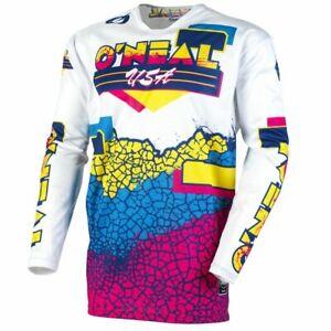 O'Neal E21 Mayhem Crackle 91' Mens Off Road Dirt Bike Motocross Jersey