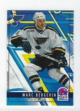 1999-00 St. Louis Blues Taco Bell #1 Marc Bergevin