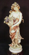 """Guiseppe Armani Figurine Autumn Lady With Amphora #183C 12"""" Tall Exc. Cond."""