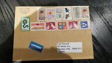 GERMANY  COVER TO CANADA     Nice stamps