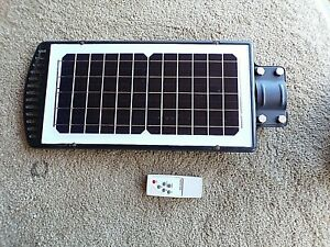 Solar Street Light LED Outdoor Dusk-to-Dawn Area Road; rS