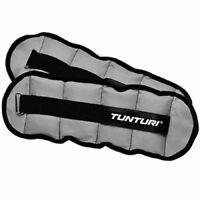 Tunturi Ankle Wrist Weights 1kg Arm Leg Resistance Training Running Gym Fitness