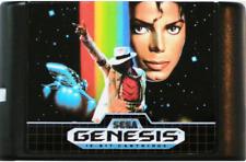 Michael Jackson Moonwalker 16 bit MD Game Card For Sega Mega 16 Genesis Drive