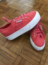 Superga Scarpe Shoes Platform Suola Alta Pink 37
