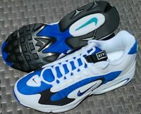 NIKE AIR MAX TRIAX 96 (US Size 11) Men's White/Varsity Royal Running Shoes - NEW