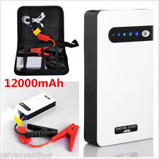Flashlight Car Jump Starter Battery Charger Power Bank Emergency Battery Cable