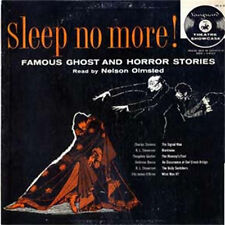 Sleep No More Old Time Radio Show MP3 CD Nelson Olmsted Stars in This OTR Great