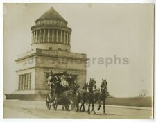 Grant's Tomb - Coaching Season, Nyc, 1913 - 1900s Press Photograph