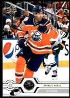 2019-20 UPPER DECK DARNELL NURSE #190 Hockey Card! NM-M Edmonton Oilers Defence