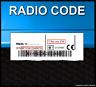 █►Radio Code passend für Blaupunkt fits Nissan MMR MOD A B C MICRA PSA CD UNLOCK