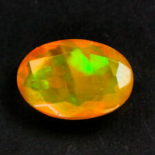 Natural Gemstone Natural 1 ct Oval Multi-Color Opal Ethiopia/S1326