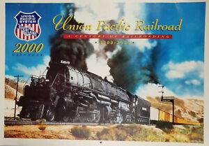 Union Pacific Railroad 2000 Train Wall Calendar Century of Railroading