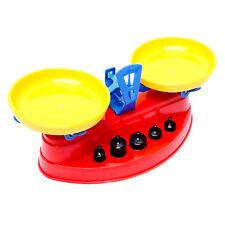 Kaufladenwaage mit Gewichten Waage für Kaufladen Spielwaage Balancewaage