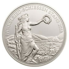 Switzerland 2018 Stans Shooting Festival 50 Swiss Francs Taler Silver Proof