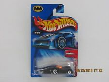 Hot Wheels 2004 FIRST EDITIONS CROOZE BATMOBILE BLACK BC CREASE LHS CARS B-I-YW