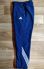 Adidas Vintage Mens Tracksuit Pants Trousers Training Navy Blue