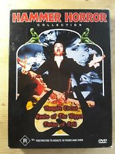 Hammer Horror collection 3 dvd set (Region 4) cardboard edition