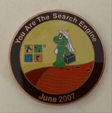 June 2007 Signal the Frog Saudi Arabia Geocoin