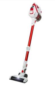 Goblin GSV501W-19 NEW 29.6v Cordless Stick Upright Vacuum Cleaner White & Red