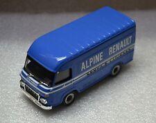 véhicule, voiture miniature collection ALPINE RENAULT SERVICE COURSES SAVIEM