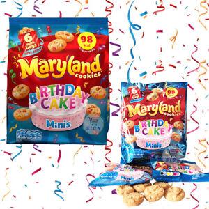 MARYLAND COOKIES BIRTHDAY CAKE MINIS 6 BAGS PER PACK 118.8g