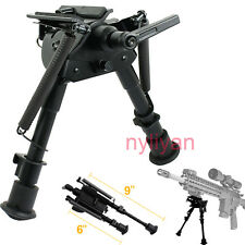 "Adjustable 6""-9"" Pivot/Rotating Spring Return Legs Bipod&swivel Lock for Rifle"