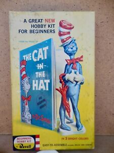 1959 DR SUESS CAT IN THE HAT REVELL MODEL KIT COMPLETE UNBUILT ORIGINAL RARE