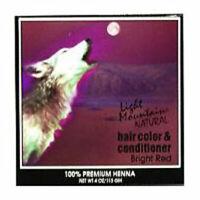Natural Coloración de Cabello y Acondicionador Bright-Red 118ml