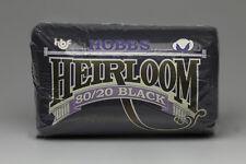 "BLACK Hobbs Heirloom PREMIUM COTONE IMBOTTITURA OVATTA/Queen Size (90 ""X 108"")"